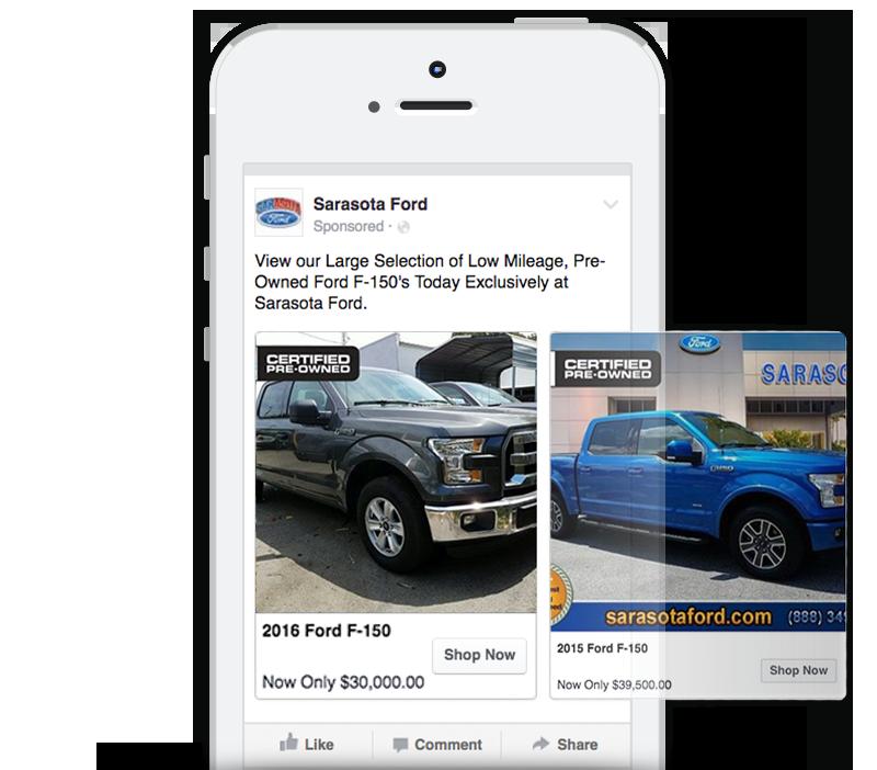 Facebook ads for dealerships